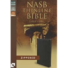 Thinline Bible-NASB-Large Print Zippered