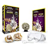 National Geographic Crack Open 2 Geodes and Explore Crystals with