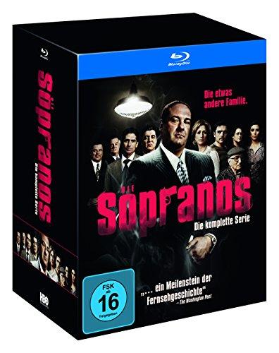 Preisvergleich Produktbild Sopranos - Die komplette Serie (exklusiv bei Amazon.de) [Blu-ray] [Limited Edition]
