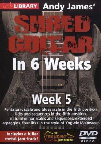 Preisvergleich Produktbild Shred Guitar in 6 Weeks - Week 5