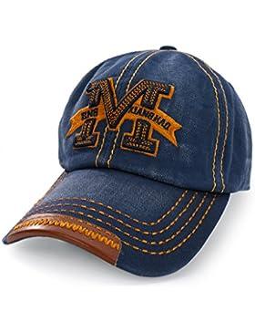 Casual Gorra de béisbol carta tapas gorro de parte trasera ajustable sombreros gorra Trucker Cap gorro de invierno