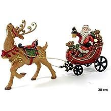 Figura de Navidad Moderna Resina para decoración navideña Christmas - LOLAhome