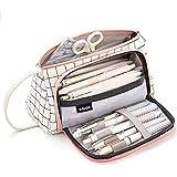 حقيبة تخزين قماشية ملونة متوسطة السعة حقيبة أقلام ماركر قلم رصاص حافظة بسيطة حامل حقيبة للمدرسة الثانوية المتوسطة مكتب كلية ط