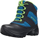 Columbia Jungen Youth Rope Tow Iii Waterproof Outdoor Boots, Blau (Blue Magic, Green Mamba 426Blue Magic, Green Mamba 426), 37 EU