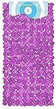 Circulators Alfombrilla para bañera (70x 35cm Color Morado piedra Modern