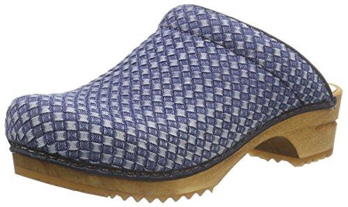 Sanita Damen Debra Open Clogs Blue (blu 5)