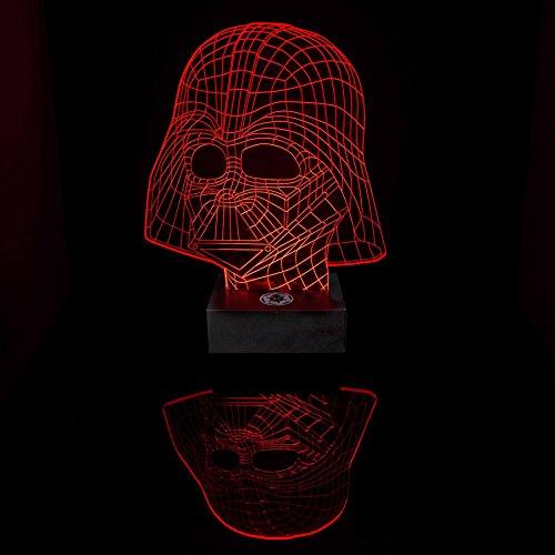 ... Verschiedenen Farben Und Produziert Einzigartige Lichteffekte Und  3D Visualisierung U2013 Amazing Optische Täuschung(Star War Darth Vader)  (Haushaltswaren)