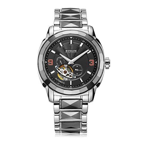 BINLUN - Herren -Armbanduhr- BL0056B