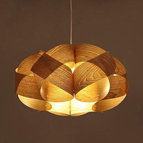 Modernes, Minimalistisches Hölzerne Kronleuchter, Studie Wohnzimmer Lampe Südostasiatischen Pastorale Restaurant Schlafzimmer Holz- Lampen (Lampe Hölzerne)