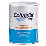 Collagile Dog Hunde Ergänzungsfutter für Knochen und Bänder Bioaktive Kollagenpeptide in Lebensmittelqualität (10 x 225g)