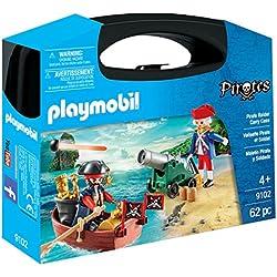 Maletín grande con pirata y soldado, Playmobil.