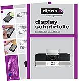 TechniSat Digitradio 360 CD IR Schutzfolie - 3x dipos Displayschutzfolie Folie klar