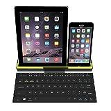 Tutoy Rollbarer Bt Drahtloser Bluetooth-Tastatur-Intelligenter Magnetischer Schalter Für Smartphone-Tablette