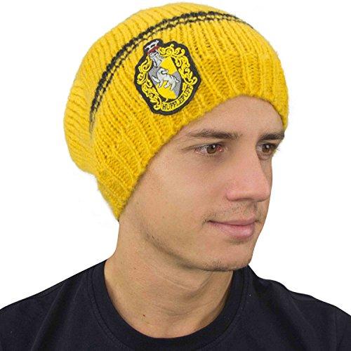 Potter -Mütze - Offiziel lizensiert - Hufflepuff - Gelb und Schwarz ()