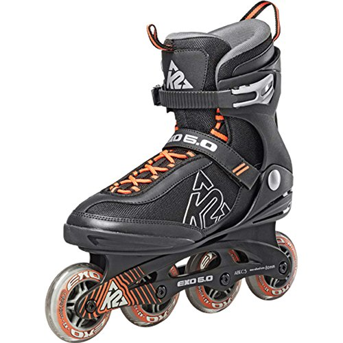 K2 Skates Herren 3050708.1.1 Inline Skate Exo 6.0 M black/orange - US 9,5