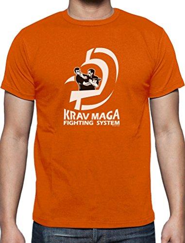 Präsent für Krav Maga Movement Fans T-Shirt Orange