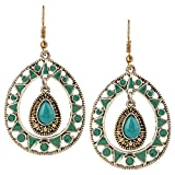 Fine Jewellers Gold Plated Green Meenaka...