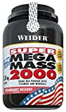 Weider Super Mega Mass 2000, Protein Weight Gainer, 1500g (1,5kg) Eimer, Schoko
