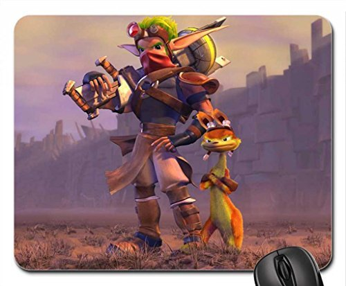 Jak the Wastelander Mouse Pad, Mousepad (10.2 x 8.3 x 0.12 inches)