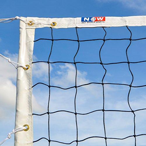 Vermont Wettbewerbe Volleyballnetze FIWB genehmigt - wählen Sie entweder EIN Beach Volleyballnetz 8,5m oder EIN Regelung Volleyballnetz 9,8m aus (Regelung Volleyballnetz)