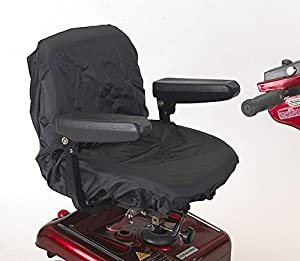 Ducksback elasticated waterproof mobility scooter / electric wheelchair seat cover