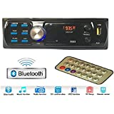 Gadget Deals 2003 Bluetooth Car Stereo Media Mp3 Music System Player (FM/AUX/USB/MMC)