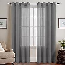 Suchergebnis auf Amazon.de für: vorhänge grau wohnzimmer - 3 ...