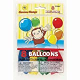 Curious George Balloons 8ct