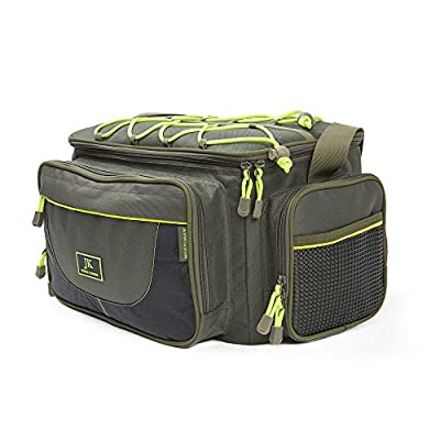 Jack Kirkham Sports Insulated Fishing Waterproof Holdall Carryall Bag Supplied With 4 Tackle Boxes Made From Oxford 900D Fabric by Jack Kirkham Sports