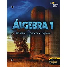 Holt McDougal Algebra 1, Spanish: Student Edition Consumable Worktext 2014