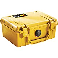 PELI 1120 Professional Shockproof Camera Case, IP67 Watertight, 5L Capacity, Made in US, With Customisable Foam Inlay…