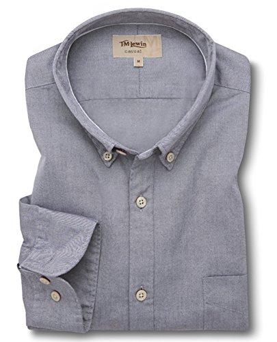 tmlewin-mens-navy-oxford-washed-casual-shirt-small