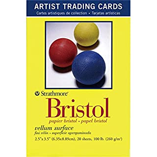 Strathmore Papers Artist Trading Cards 300 Series Bristol Vellum Surface