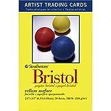 Strathmore Papier 105–902300Serie Trading Karten Pergamentpapier Oberfläche, 20Blatt, Natürliches Weiß