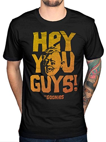 Official The Goonies Hey You Guys T-Shirt, M to XXL