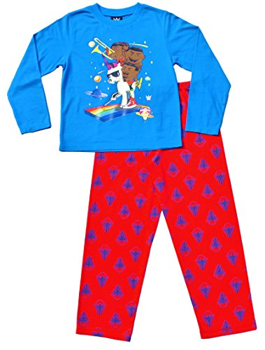 wwe-pyjamas-6-to-12-years-pjs-the-new-day-big-e-kofi-kingston-and-xavier-wood-9-10-years