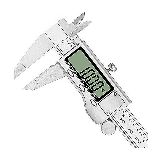 Tools & Workshop Equipment Independent Calibro Corsoio Di Profondita In Metallo 0-150 Mm Con Astuccio Other Measuring & Layout Tools