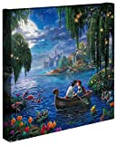 Thomas Kinkade The Little Mermaid II 35,6 x 35,6 cm Galerie verpackt Leinwand