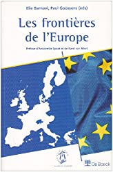 Les frontières de l'Europe