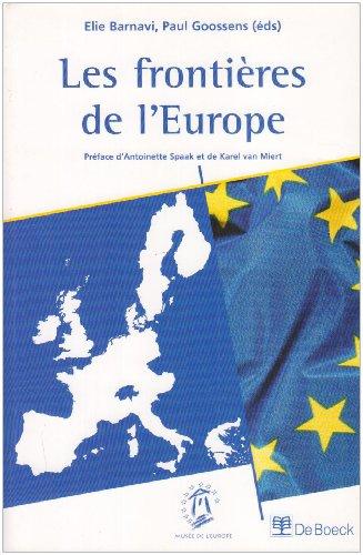 Les frontières de l'Europe par Elie Barnavi