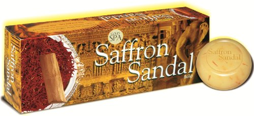 Gold Spa Saffron Sandal Soap  available at amazon for Rs.350