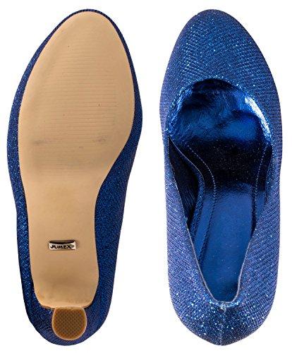 Elara - Scarpe con plateau Donna Blau