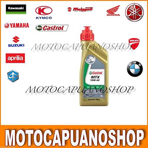 OLIO MOTORE CAMBIO 2 T 10W40 CASTROL MTX VESPA MOTO