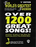 The World's Greatest Fakebook: C Edition by Warner Brothers (1997-03-02)