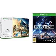 Xbox One S - Consola 500 GB Assassin's Creed Origins + Star Wars: Battlefront II - Edición estándar