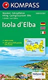Hiking map no. 2468. Island of Elba 1:25.000