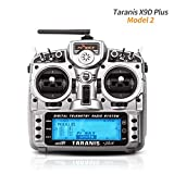 Frsky Taranis X9D Plus Sender 16CH 2.4ghz ACCST RC Transmitter kompatibel Frsky RC Empfänger for FPV Racing RC Drone Quadcopter by LITEBEE ( Modus-2 Left Hand Throttle )