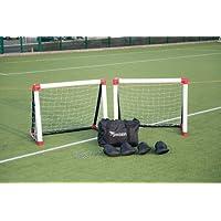 Football Goals-nets Precision Inflatable Training Goals - Set Of 2 (1.2m X 1.0m)