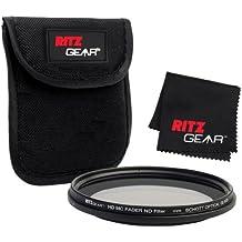 Ritz Gear; Filtro atenuador ND (densidad neutra) HD MC Premium de 40.5 mm con VIDRIO ÓPTICO SCHOTT