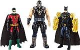 DC Batman et Robin contre Bane figurines articulées 15 cm, jouet pour enfant, FVM57